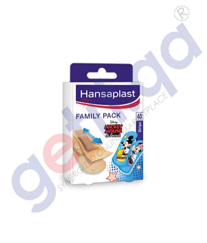 GETIT.QA | Buy Hansaplast Family Pack Assorted 40s in Doha Qatar