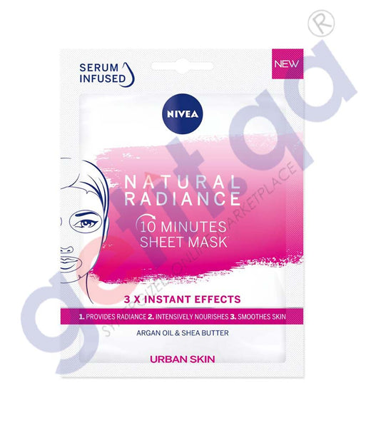 GETIT.QA | Buy Nivea Urban Skin Natural Radiance Sheet Mask Doha Qatar