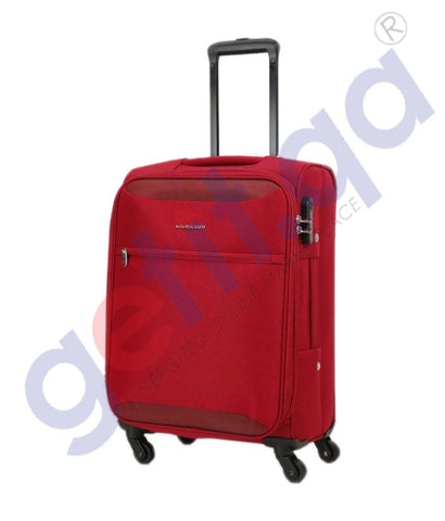 GETIT.QA | Buy Kamiliant Zaka Soft Trolley Small 56cm-Maroon Doha Qatar
