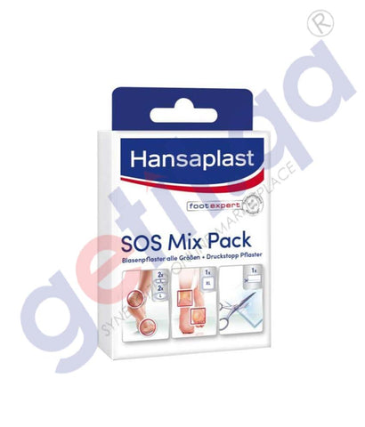 GETIT.QA | Buy Hansaplast SOS Mix Pack Assorted Online in Doha Qatar