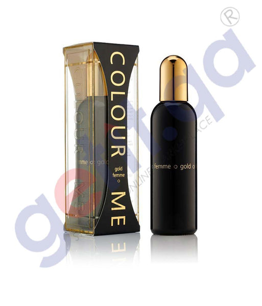 GETIT.QA | Buy Milton Lloyd Colour Me Gold EDT For Her-100ml Doha Qatar