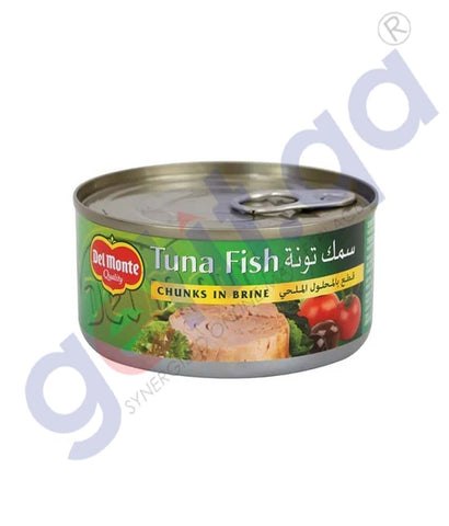 Del Monte Tuna Fish In Brine 185g