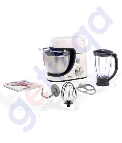 Buy Moulinex Kitchen Machine 1100w QA513D27 in Doha Qatar