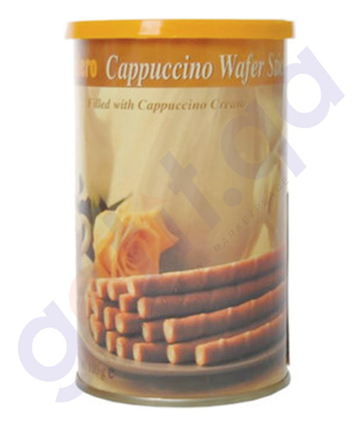 BUY BOLERO-CAPPUCCINO WAFER STICKS 110GM ONLINE IN DOHA QATAR
