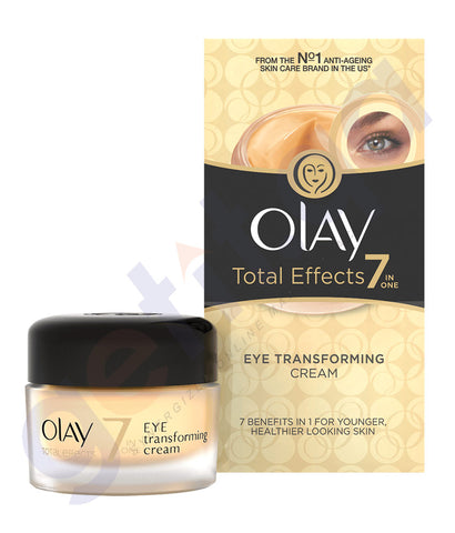 BUY OLAY TOTAL EFFECT 7N1 EYE TRANSFORMING CREAM 15ML IN QATAR