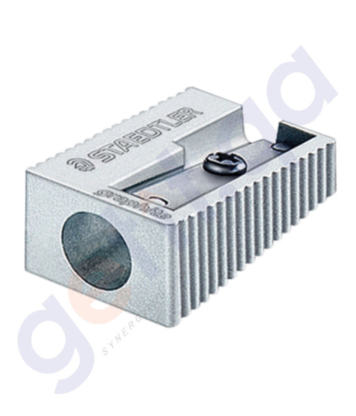 BUY STAEDTLER METAL SHARPNR SINGL HOLE BOX=20-ST-510-10 ONLINE IN QATAR
