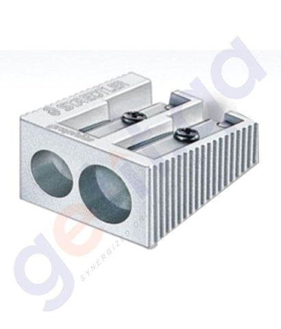 BUY STAEDTLER METAL SHARPNER DOUBL HOLE BOX=20-ST-510-20 IN QATAR