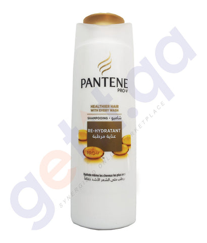BUY PANTENE 400ML RE-HYDRATANT SHAMPOO ONLINE IN QATAR