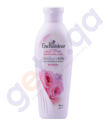 BUY ENCHANTEUR ROMANTIC BODY LOTION 250ML ONLINE IN QATAR
