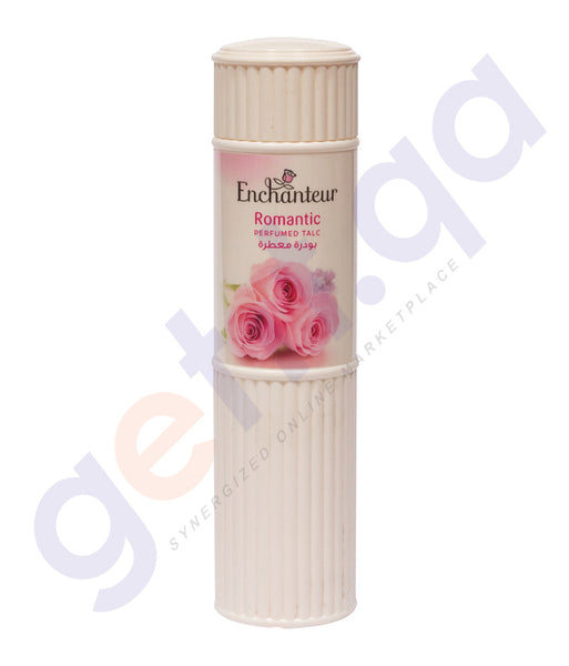 BUY ENCHANTEUR 250GM ROMANTIC TALC ONLINE IN QATAR