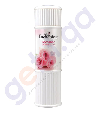 BUY ENCHANTEUR 125GM ROMANTIC TALC ONLINE IN QATAR