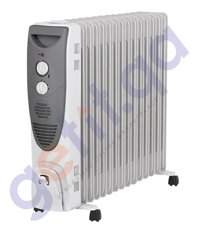 BUY ELEKTA 15 FINS OIL RADIATOR HEATER - EORH-015 IN QATAR