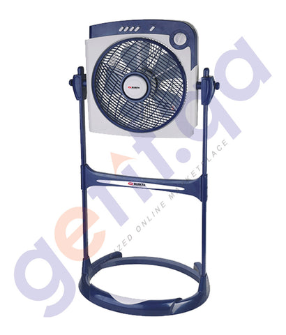 BUY ELEKTA BOX FAN WITH STAND WITH TROPICAL CLIMATE ONLINE IN QATAR