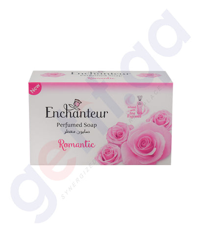 BUY ENCHANTEUR 125GM ROMANTIC SOAP ONLINE IN QATAR