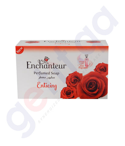 BUY ENCHANTEUR 125GM ENTICING SOAP ONLINE IN QATAR
