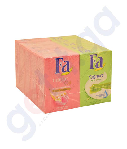 Buy Fa Bath Soaps 90gm*10 Offer Price Online in Qatar