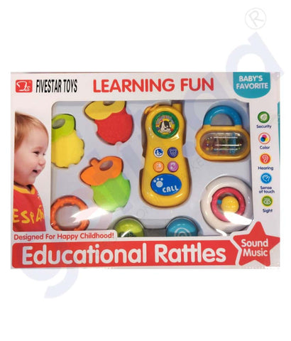 Buy Five Star Baby Learning Rattles Toys 33183 Doha Qatar
