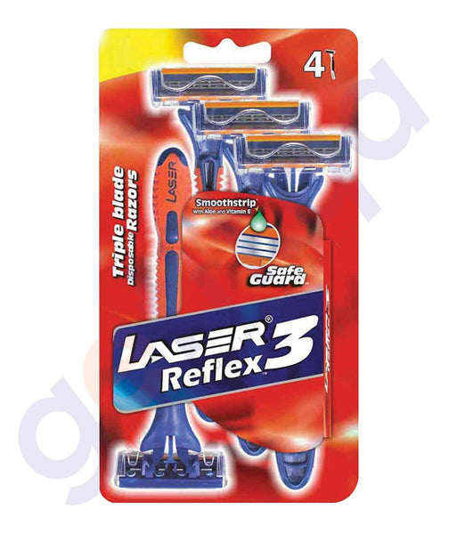 BUY LASER REFLEX3 - 3+1 TRIPLE CARD ONLINE IN QATAR