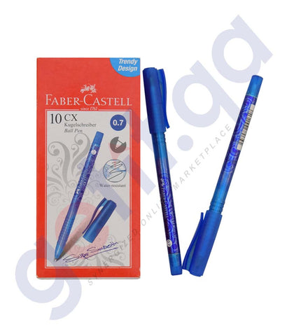 Buy Faber Castell CX Ball Pen 0.7mm Online in Doha Qatar