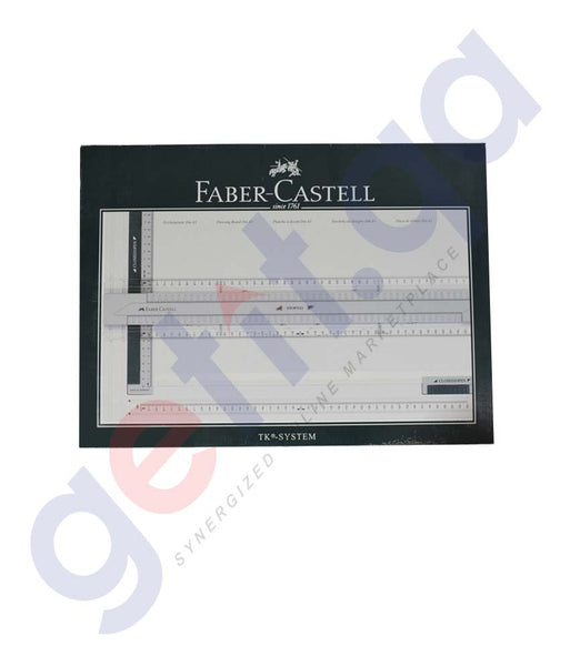 Buy Faber Castell TK-System Drawing Board A3 in Doha Qatar