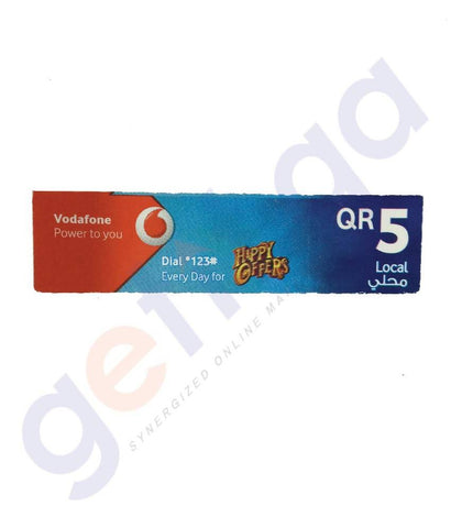 SHOP FOR VODAFONE LOCAL 5 ONLINE IN QATAR
