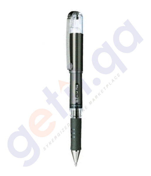 BUY PENTEL HYBRID GEL DX 0.7MM - PACK OF 12 BLACK - PE-K227-A ONLINE IN QATAR