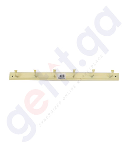 Buy Gitco Wall Hanger Ind 6 Hook Good Online in Doha Qatar