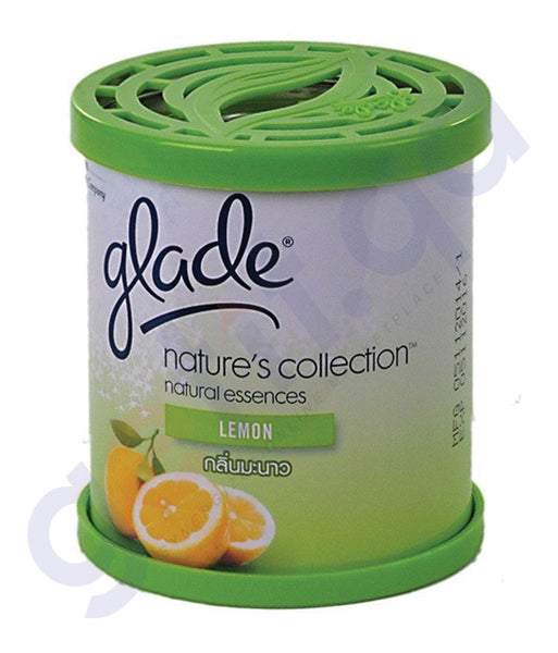 BUY GLADE NATURE'S COLLECTION - LEMON 70GM ONLINE IN QATAR
