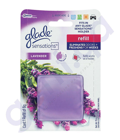 BUY GLADE SENSATIONS LAVENDER REFILL 8GM ONLINE IN QATAR