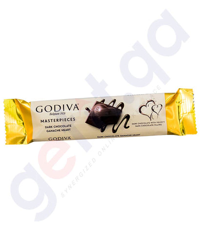 Buy Godiva Masterpieces Dark Chocolate Bar 35g Doha Qatar