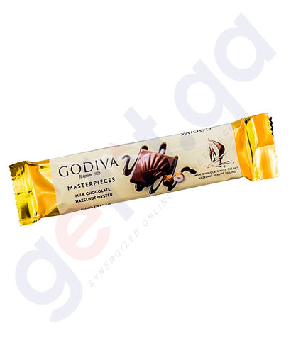 Buy Godiva Masterpieces Milk Chocolate Bar 32g Doha Qatar