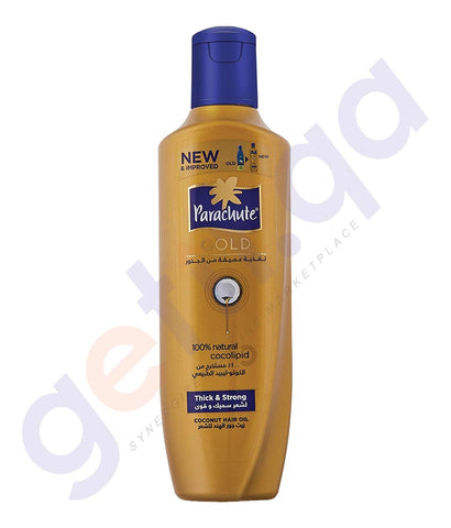 BUY PARACHUTE GOLD HAIR OIL-(TS) THICK & STRONG 200ML/400ML ONLINE IN QATAR