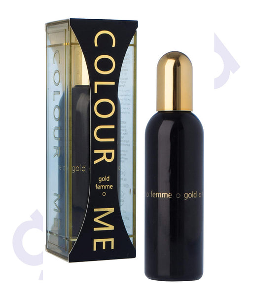MILTON LLYOD COLOUR ME GOLD FEMME EDT 100ML FOR WOMEN