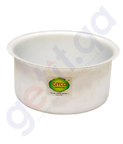 Buy Gitco Aluminium Pot with Lid Price Online in Doha Qatar