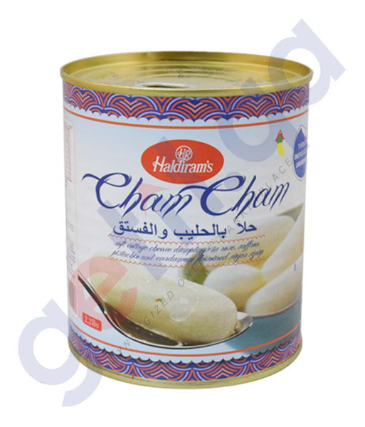BUY BEST QUALITY HALDIRAMS CHAM CHAM 2.2LBS ONLINE IN QATAR