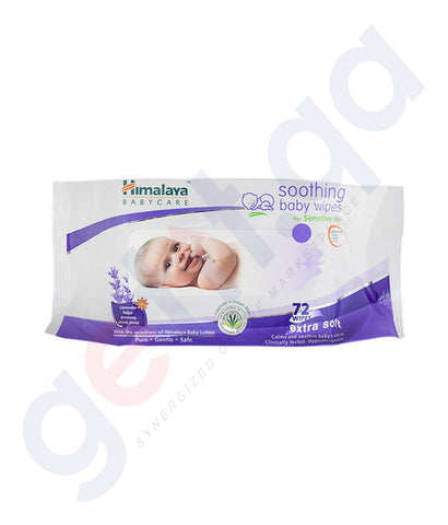 Buy Himalaya Soothing Baby Wipes Price Online in Doha Qatar
