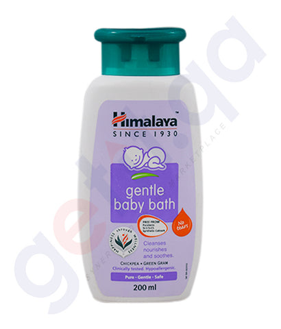 Buy Himalaya Gentle Baby Bath Price Online in Doha Qatar