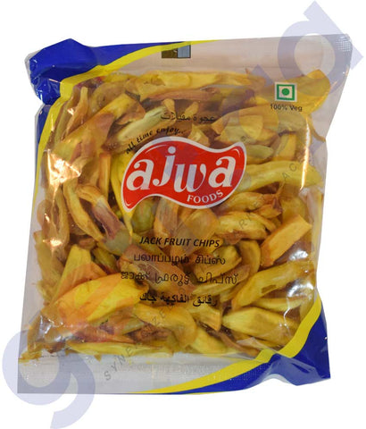 Buy Ajwa Jack Fruit Chips 125gm Online in Doha Qatar