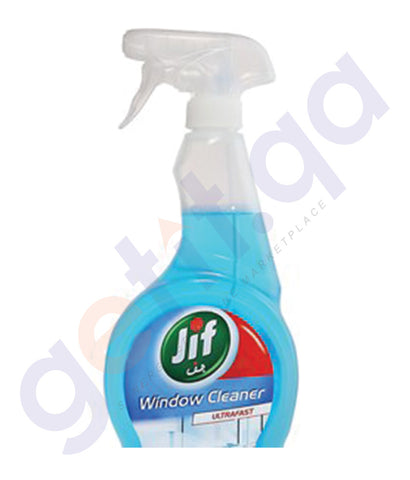 JIF  500ML ULTRA FAST WINDOW CLEANER SPRAY