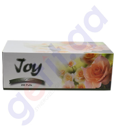 Buy Joy Tissue 200s 2Ply Box Price Online in Doha Qatar