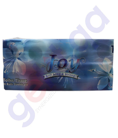 Buy Joy Toilet Roll 150s Embossed 2Ply 10pcs in Doha Qatar