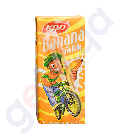 KDD BANANA FLAVOURED MILK 180 ML