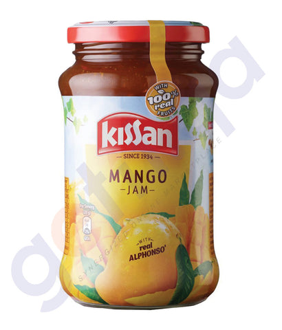 BUY BEST PRICED KISSAN MANGO JAM 500GM ONLINE IN QATAR