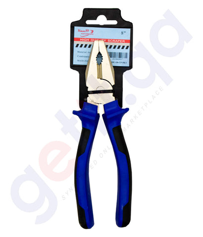 Buy KMax Combination Plier Blue 8inch Online in Doha Qatar