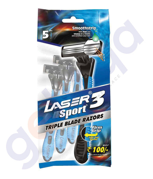 BUY BEST PRICED LASER SPORT3 3+2 TRIPLE PCH ONLINE IN QATAR