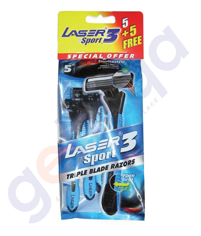 BUY BEST PRICED LASER SPORT3 5+5 TRIPL PCH ONLINE IN QATAR