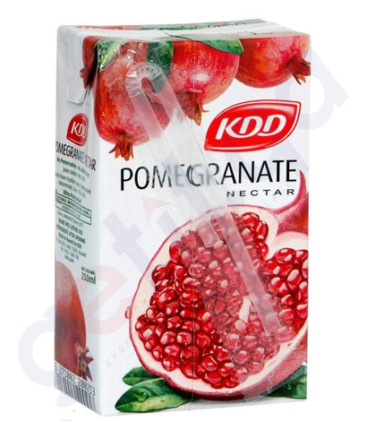 Buy Best KDD Pomegranate Nectar 250ml Online in Doha Qatar