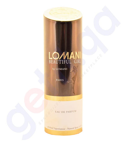 Buy Lomani Beautiful Girl 100ml Price Online in Doha Qatar