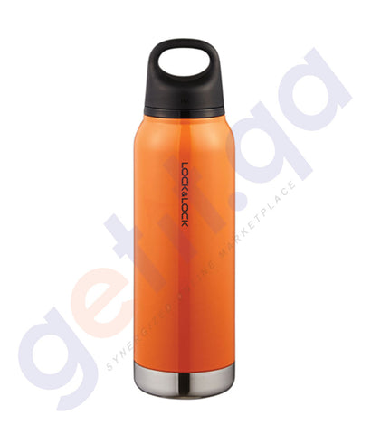BUY LOCK & LOCK 620ML LOOP TUMBLER ORANGE ONLINE IN QATAR