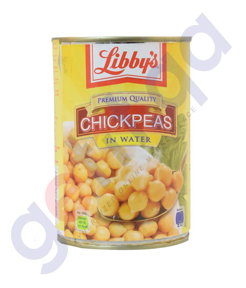 Buy Libby's Chickpeas in Water 420gm Online in Doha Qatar